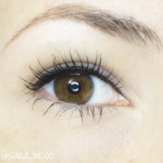 Erweiterete Wimpernkranzverdichtung mit zurückhaltendem Eyeliner