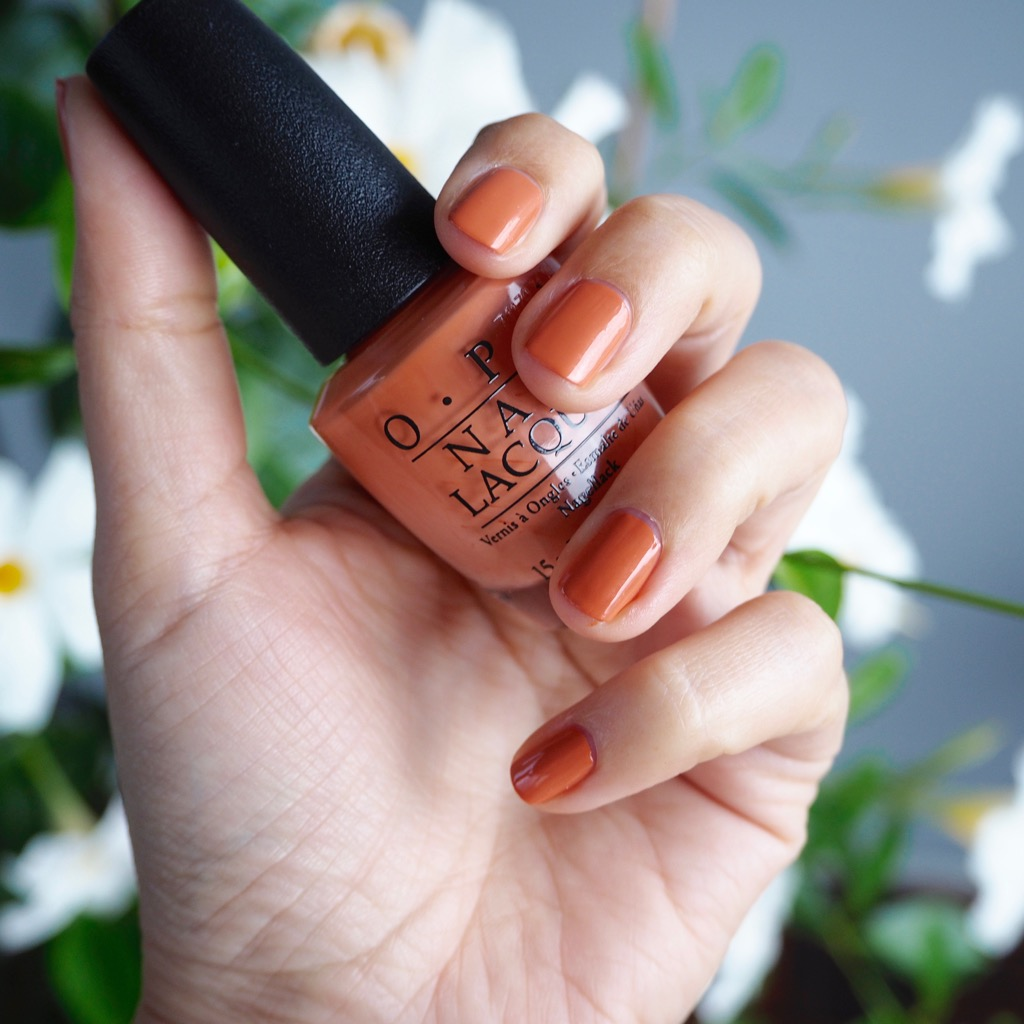 OPI, Freedom of Peach, Washtington DC, Nagellack